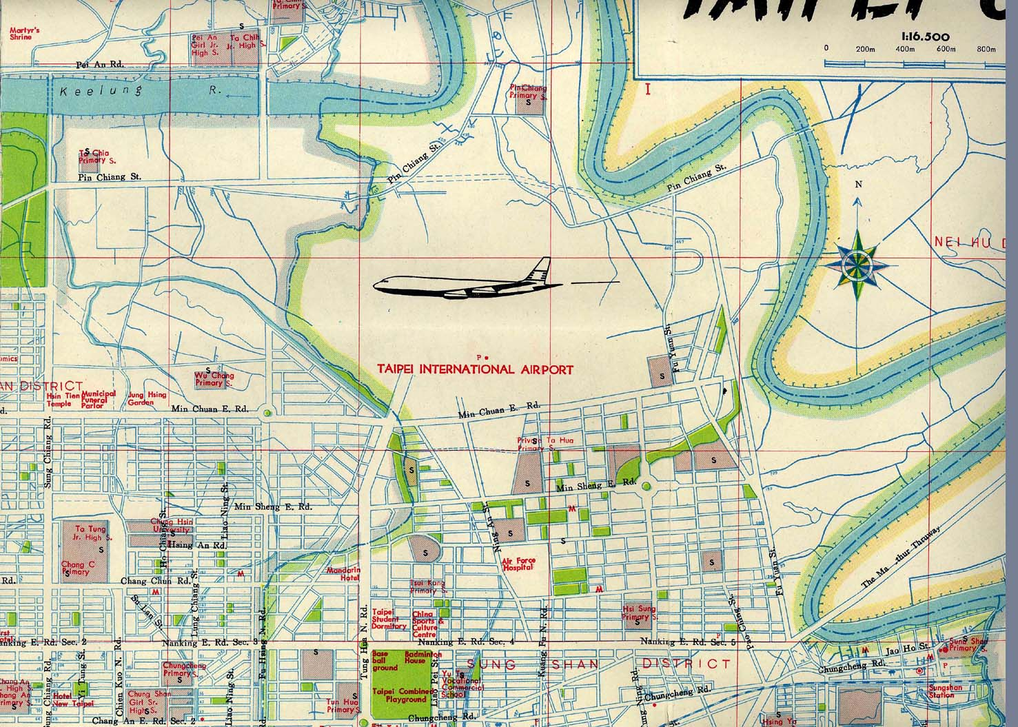 maps of taiwan 1971 and taipei 1970 nan hua publishing co ltd taipei far right the taiwan report 1973 edit provided by l duffin