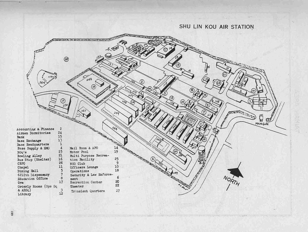 Shulinkou Air Station 1970 Shulinkou Air Station Circa 1970 Shulinkou As Map Circa 1974 Photo Credits 1 D Bechtel 2 Unknown 3 1975 Us Forces